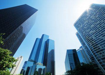 Illustration immobilier d'entreprise